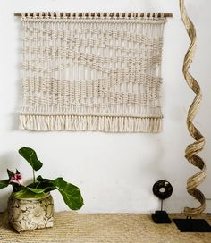 Pure macrame wall hanging by RanranDesign on Etsy