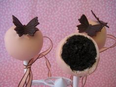 Love without the butterflies...Bubble and Sweet: Oreo Cookie Truffle Pops Recipe