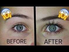 How To Grow Your Eyelashes In 1 Day! - YouTube