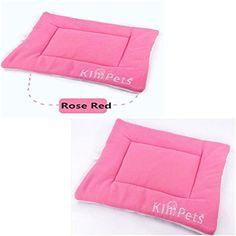 1PC Satisfying Modern Pet Mat Size M Puppy Plush Dog Blanket Warm Bed Color Pink