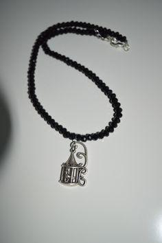 bead necklace,siyah kolye,boncuk kolye, http://worldofdiamond07.blogspot.com/p/yaptiim-tak.html