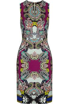 Etro Printed crepe dress | THE OUTNET