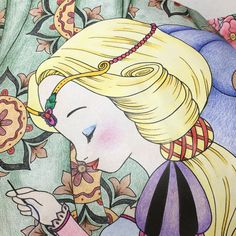 Snow White coloring book by Fabiana Attanasio
