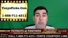 New England Patriots vs. Carolina Panthers Pick Prediction NFL Pro Footb...