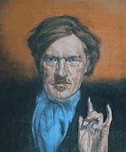 Austin Osman Spare (English artist/occultist 1886~1956) | не в этом ли портрете та почти легендарная история с рисунком Гитлера?