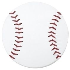This baseball wall art Is made of real leather stretched over a frame. It also has real lacing. This would be so easy to do for a themed room and could become a bulletin board.