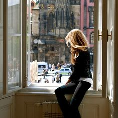Waiting for *him*