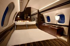 Bombardier has unveiled its million Global the largest ever private jet complete with a master suite, dining area, and shower room Luxury Private Jets, Private Plane, Luxury Travel, Luxury Cars, Private Jet Interior, Jet Air, Airplane For Sale, Kitchens And Bedrooms, Above The Clouds