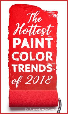2018 paint color trends