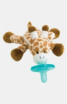 WubbaNub infant pacifiers have become a necessity for all new babies. Wubbanub baby pacifiers are soothie pacifier attached to a plush giraffe Wubbanub Pacifier, Binky, Best Pacifiers, Bag Essentials, Done By Deer, Plush Animals, Stuffed Animals, Baby Time, Baby Must Haves