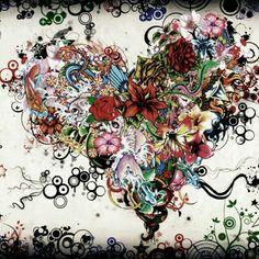 Street Art Wallpaper Love Pictures Art Design for iPhone Multicolor Wallpaper, Colorful Wallpaper, Disney Art Drawings, Whatsapp Pink, Art Amour, Images D'art, Graffiti, Design Floral, Floral Motif