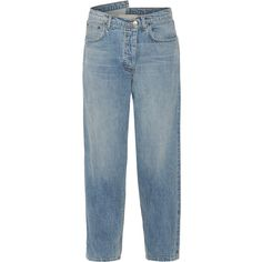 Monse Asymmetric mid-rise tapered jeans ( 1 b6a456c773e09