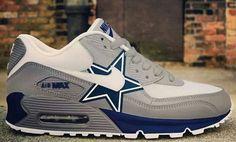 Dallas Cowboys Air Max 2013   dallas cowboy air max 90