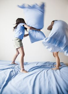 Pillow fight movement