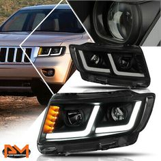 Custom Headlights, Hid Headlights, Projector Headlights, 2011 Jeep Grand Cherokee, Jeep Cherokee Xj, 2011 Honda Civic, Honda Civic Sedan, Toyota Camry, Toyota Corolla