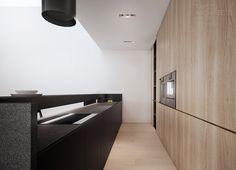 Projekt wnętrz domu jednorodzinnego pk-house, łubki   Tamizo Architects