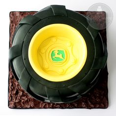 tractor tire cake-this is my FIL's birthday cake! It was AMAZING! Great job Shawna!
