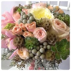 Fab wedding bouquet