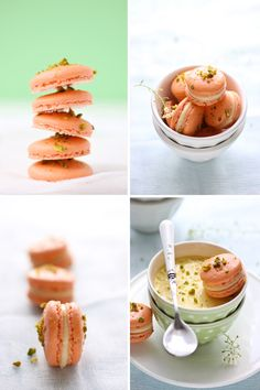 Pistachio and Grapefruit Macarons and a Pot De Creme Craving :: Cannelle et Vanille