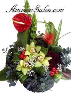 Original flower arrangements, not available anywhere else besides AnemonSalon.com