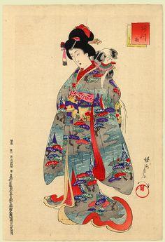 JAPAN PRINT GALLERY: The Dog
