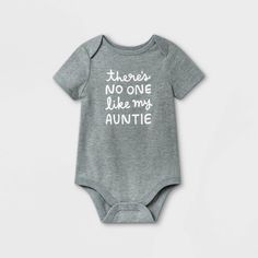 Auntie Baby Clothes, Babies Clothes, Baby Boy Outfits, Cute Outfits, Toddler Fashion, Cute Shirts, Shirt Designs, Bodysuit, Aunt Onesie