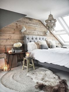 Loft conversion with reclaimed scaffold plank wall Secrets of a Successful Loft Conversion — Malmo & Moss Source by sitarzkaska The post Secrets of a Successful Loft Conversion — Malmo & Moss appeared first on Susannah Kenny Interiors. Attic Master Bedroom, Attic Bedroom Designs, Attic Rooms, Bedroom Loft, Bedroom Wall, Kids Bedroom, Bedroom Ideas, Cabinet D Architecture, Architecture Design