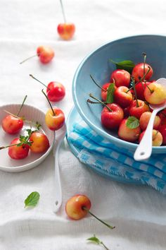 Rainier cherries....quite possibly the world's most perfect food. I could live on these alone!
