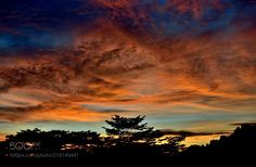 Turner's Sky (Justin Adam Lee / Sunset Way, Singapore / Singapore) Adam Lee, Cool Landscapes, Beautiful Landscapes, Fiery Red, Will Turner, Nature Photos, Land Scape, Cool Photos, Clouds