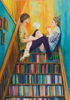 literature on the stairs