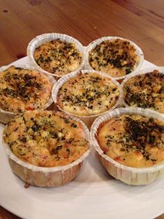 Quiche, Feta, Mashed Potatoes, Nom Nom, Muffin, Baking, Breakfast, Ethnic Recipes, Red Peppers