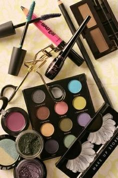 I love make-up! I'm always buying new products to try them out and see how I like them. I don't know what I'd do without it. Make-up has definitely moved it's way up in society. Almost everywhere you look women are wearing some kind of make-up.