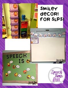 Decorate your speech and language therapy room with a theme that is motivating and inviting! Your students will love it and you will love how complete this pack is!