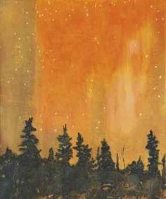 Peter Doig - Orange Forest