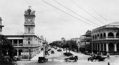 Flinders St,Townsville in Queensland (year unknown).   🌹
