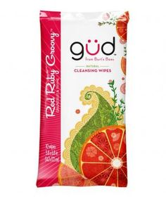 Gud Natural Cleansing Wipes: Great for a post-workout refresh, these fruit- and citrus-scented cloths wipe away sticky sweat and its accompanying odors.