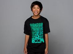 J!NX : Minecraft SSS BOOM! Youth Tee - Clothing Inspired by Video Games & Geek Culture