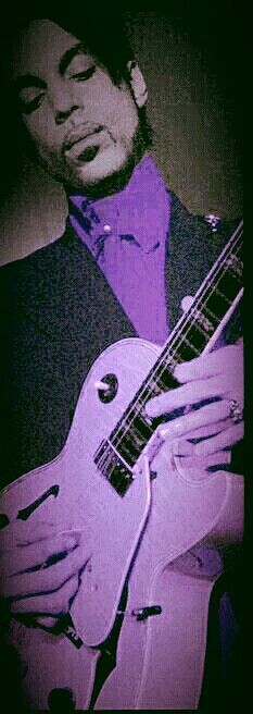 A beautiful shade of Guitar LOVE ♡ Prince