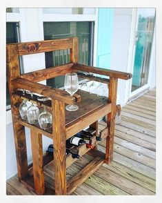 """3 Likes, 1 Comments - A Moment In Time (@amitdesigns) on Instagram: """"Rustic Wine Chair #beach #beachhouse #wine #vino #merlot #chardonnay #interiordesign #home #decor…"""""""