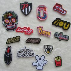 1pcs sell C450-C465 hot sale fashion patch hot melt adhesive applique embroidery patch DIY clothing accessory patch #clothing,#shoes,#jewelry,#women,#men,#hats,#watches,#belts,#fashion,#style