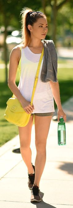 Pop Of Yellow Casual Outfit Idea by Hapa Time