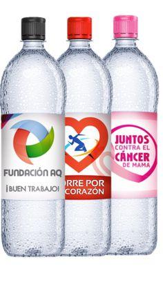 96 Botellas personalizadas 500 ml