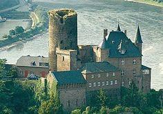 Burg Katz über dem Rhein