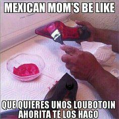 Louboutin a la mexicana