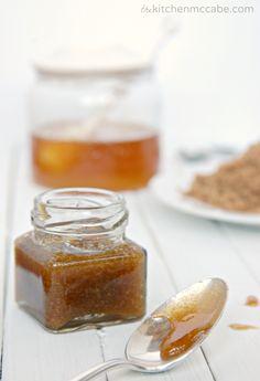 DIY Brown Sugar Honey Facial Scrub