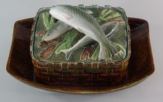 George Jones Sardine Dish & Cover