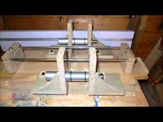 Heres my updated inside milling jig for rounding inside the stave shell. My older jig was a pain to set up the rollers symetrically so this one aims to cure . Router Jig, Snare Drum, Milling, Banjo, Woodcarving, Percussion, Wood Working, Capricorn, Drums