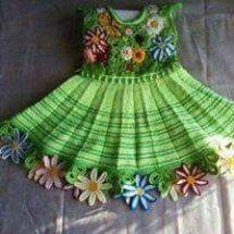 Baby Crochet Patterns Part 26 - Beautiful Crochet Patterns and Knitting Patterns Crochet Blanket Patterns, Baby Patterns, Knitting Patterns, Cute Dresses, Girls Dresses, Crochet Baby Clothes, Crochet Dresses, Crochet For Kids, Crochet Ideas