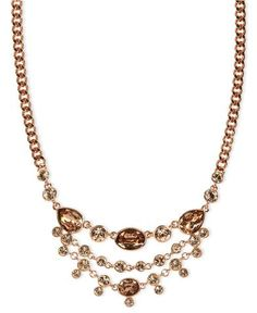 Givenchy Frontal Bib Necklace | Macy's