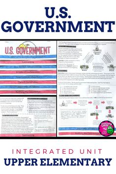 U.S. Government & Civics Unit: Informational Texts & Activities Low Prep - Let your 4th, 5th, and 6th grade classroom or home school students master their social studies skills with this resource. Topics include civic duties & responsibilities, Articles of Confederation, Constitutional Convention, US Constitution, separation of powers, Bill of Rights, and more. Your fourth, fifth, and sixth graders will work on informational text (or nonfiction), reading skills, test prep and review, and…